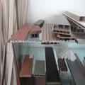 de fotos el uso compuesto plástico de madera wpc pvc puertas y ventanas de la máquina