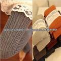 Las mujeres nobles montaje sólido Microfibra Premium opaca Invierno Terciopelo rayas verticales Las Mujeres medias