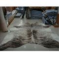 gris clair clb118 tiger tapis en cuir de vachette tapis en cuir
