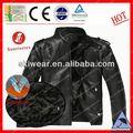 popular prova de vento e impermeável mens jaquetas de couro