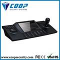 pelco electrónico con joystick teclado 8 pulgadas lcd controlador ptz de entrada vga joystick