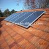 قوس الصلب تركيب الألواح الشمسية المتصاعدة بين قوسين بين قوسين ربط سقف القرميد