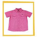 2014 alta calidad slim fit comprobar camisa de vestir para niños