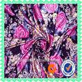 fabricantes telas shaoxing fabricante de poliéster satinado vestido de tela de la ropa textil