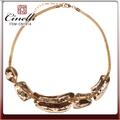 el último 2014 de oro de la cadena del cuello diseños de la joyería de oro