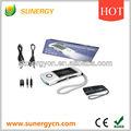 mini portátil de radio dinamo solar con la linterna
