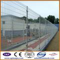 50x200mm perro run paneles de la cerca/de hierro negro de malla de alambre cerca de malla/