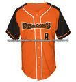 venta caliente para requisitos particulares del jersey de béisbol de alta calidad