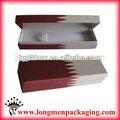 envases de longmen 2014 nueva moda de metal de color cajas de la pluma calculadora caja mágica con la pluma