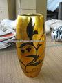 decoração da laca, laca vietnã vaso vaso