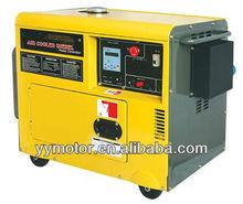 tipo silencioso generador diesel con los ats 5 kw 186f