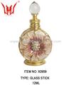 caliente venta de navidad adornos elegante botella de flor de navidad adornos