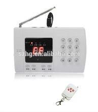 De seguridad inteligente sistema de alarma con mando a distancia, detector pir, magnético de la puerta