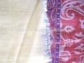 venta al por mayor de moda de lana fina bufanda, fulares del telar jacquard