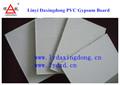 fabricação de pvc de gesso do teto telhas bordo
