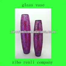 hogar al por mayor accesorios púrpura crujido jarrones modernos baratos del mosaico