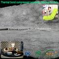 ligação térmica comprimido preenchimento de poliéster para sofa