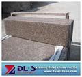 g687 granito paso escalera de peldaños de la escalera de la cubierta