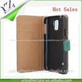las ventas caliente de cuero de cocodrilo del teléfono móvil caso de la cubierta para htc desire 600