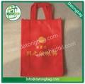 Red de pequeñas bolsas de regalo, bolso de la joyería, bolsa de tela con el botón
