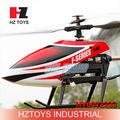 2.4G 4 canales helicóptero de control remoto de gran venta con giroscopio y doble servo.HY0072233