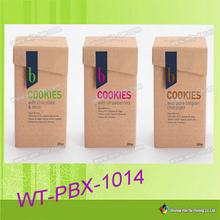 WT-PBX-1014 cuadro de plantillas de diseño de la caja de embalaje del chocolate