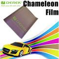 2013 la nueva llegada de la fibra del carbón del camaleón 3D Etiqueta rollo para la cubierta de coches film estirable