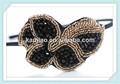 venta al por mayor de lujo hechos a mano con cuentas de cristal de pelo accesorios de dama jeweled bandas para la cabeza