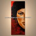 el más nuevo hecho a mano lienzo de arte africano pinturas para la decoración