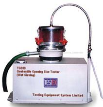 La apertura de geotextil tester tamaño( tamizado en húmedo)