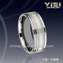 directa de la fábrica de tungsteno anillo de venta al por mayor