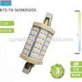 Gx53 8w/14w/15w/20w led. r7s ampoule. 118mm r7s conduit 8w