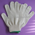 Guantes de punto de algodón, guantes de seguridad a mano, Calibre 10, Guantes Protección para Manos, 45g