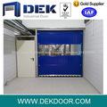 interior de alta velocidad automático de plástico pvc rollo hasta la puerta