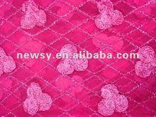 flores de moda diseño de la tela del bordado 2012