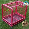 gaiola de cão de malha de arame da gaiola do cão atacado