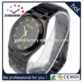 el logotipo customzied cara de oro reloj reloj de guangzhou