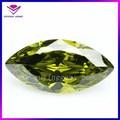 de corte del diamante forma marquesa peridoto y piedras preciosas para la venta