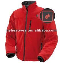 fabricantes de ropa chinos la batería se calienta los hombres chaqueta de invierno