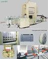 2014 envolver alimentos de papel de aluminio contenedor que hace mahine ctjy- 80t