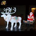 Al aire libre de interior& colgando de navidad cadena de led bola de navidad de luz decorativa