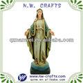 Resina religiosa María estatua