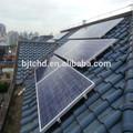 sobre/fuera de la red de energía solar sistema de generación, la energía solar en casa con sistema de puesta en servicio