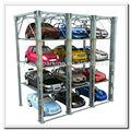 2500kg pesados 3 pisos stacker estacionamento elevador do carro do sistema de armazenamento vertical stacker
