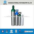 portátil de aluminio del cilindro de oxígeno