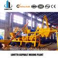 qlb10 asfalto de la planta de procesamiento por lotes precio