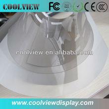 alta película de proyección trasera transparente