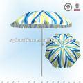 Tecido de poliéster guarda-chuva cobre aço fabricantes de mobiliário de jardim china linha terno barato sombrinhas