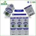 Papel de etiquetas adhesivas para embalaje/adhesivo de la etiqueta de la fabricación