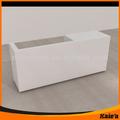 buena calidad y diseño de cajero escritorio muebles de contador de efectivo de muebles